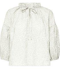 rina 3/4 aop blouse