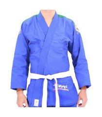 kimono tran. torah jiu-jitsu . ktlji azul