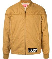 supreme poplin derby jacket ss16 - brown