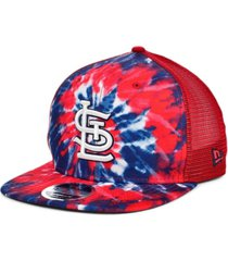 new era st. louis cardinals tie dye mesh back 9fifty cap