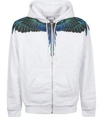marcelo burlon sweatshirt wings regular