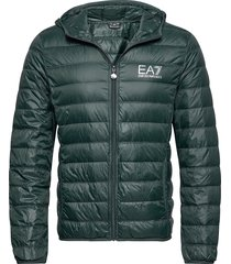 giacca piumino fodrad jacka grön ea7