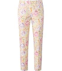 enkellange broek bloemenprint van uta raasch multicolour