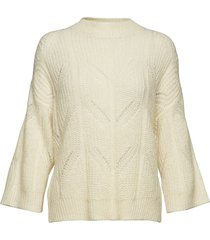 pomme knit o-neck gebreide trui crème second female