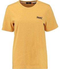 t-shirt classic geel