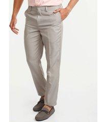 pantalon clasico regular fit beige 40