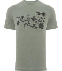 t-shirt masculina pocket eco washed - verde