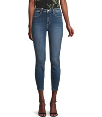 l'agence women's margot high-rise ankle skinny jeans - monterey - size 30 (8-10)
