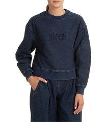 alberta ferretti athleisure sweatshirt