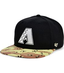 '47 brand arizona diamondbacks operation camo snapback cap