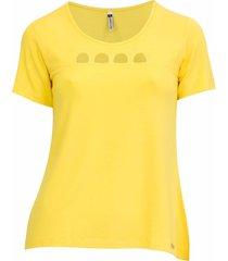 4c5f59e642 Blusas - Vazados - Pique - Amarelo - 2 produtos - Jak Jil