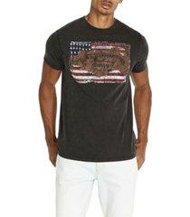 buffalo david bitton tustate flag men's t-shirt