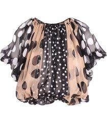 dolce & gabbana silk blouse