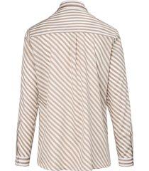blouse 100% katoen lange mouwen van eterna wit