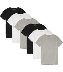 tommy hilfiger 6-pack t-shirts multi