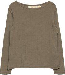 bella t-shirt t-shirts long-sleeved t-shirts grön soft gallery