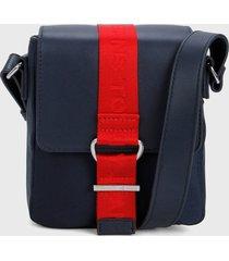 bolso azul-rojo tommy hilfiger