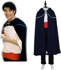 men prince eric costume the little mermaid prince eric cosplay outfit custom