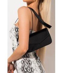 akira not so plain jane patent crossbody purse