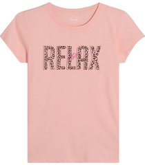 camiseta mujer relax color rosado, tallal