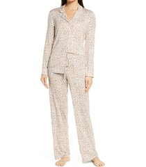 women's nordstrom lingerie moonlight pajamas, size x-large - ivory