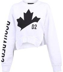 asymmetric sweatshirt dsquared2