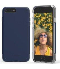 estuche protector puregear dualtek pro iphone 7 plus - azul