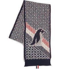 penguin wool scarf
