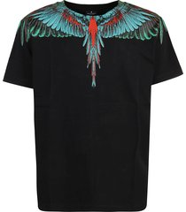 marcelo burlon t-shirt green wings