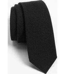 men's the tie bar solid wool blend skinny tie