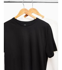 mens 2 black and white classic t-shirt multipack*
