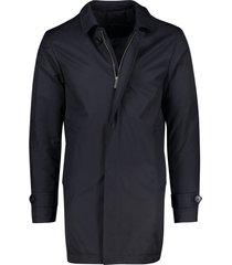 half lange jas portofino donkerblauw