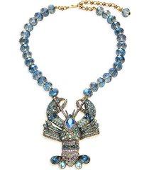 heidi daus women's beaded lobster statement necklace
