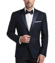 awearness kenneth cole navy plaid slim fit dinner jacket