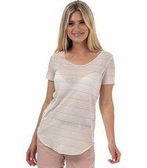 womens sanne lua stripe t-shirt