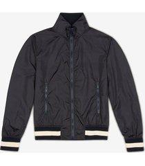 nylon bomber jacket blue 58