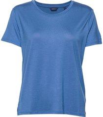 light weight ss t-shirt t-shirts & tops short-sleeved blauw gant