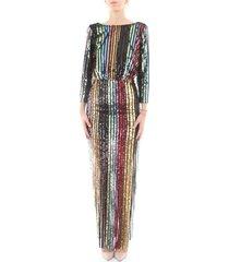 01fla021 long dress women