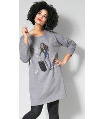 sweatshirt angel of style grijs