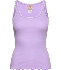 cotton top regular w/ lace t-shirts & tops sleeveless lila barbara kristoffersen by rosemunde