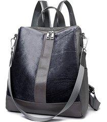 mochilas/ patchwork mujeres mochila mujeres bolsa-azul
