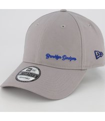 boné new era mlb brooklyn dodgers 920 cinza
