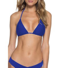 women's becca flair triangle bikini top