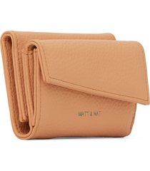 matt & nat tani small vegan wallet purity, melon