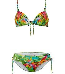 bikini fürstenberg groen/multicolor