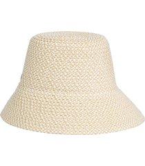 eric javits august hat marina downbrim derby hat in white mix at nordstrom