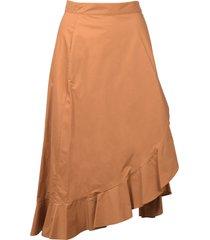 pinko wrap skirt