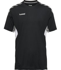tech move jersey s/s t-shirts football shirts svart hummel
