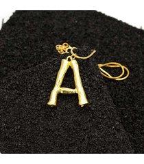 dichiarazione collana in oro con pendente 26 lettere collana con ciondolo a catena per donna