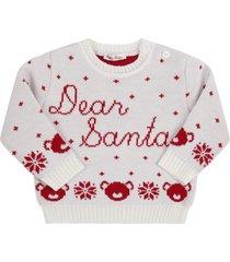 little bear white sweater for babykids